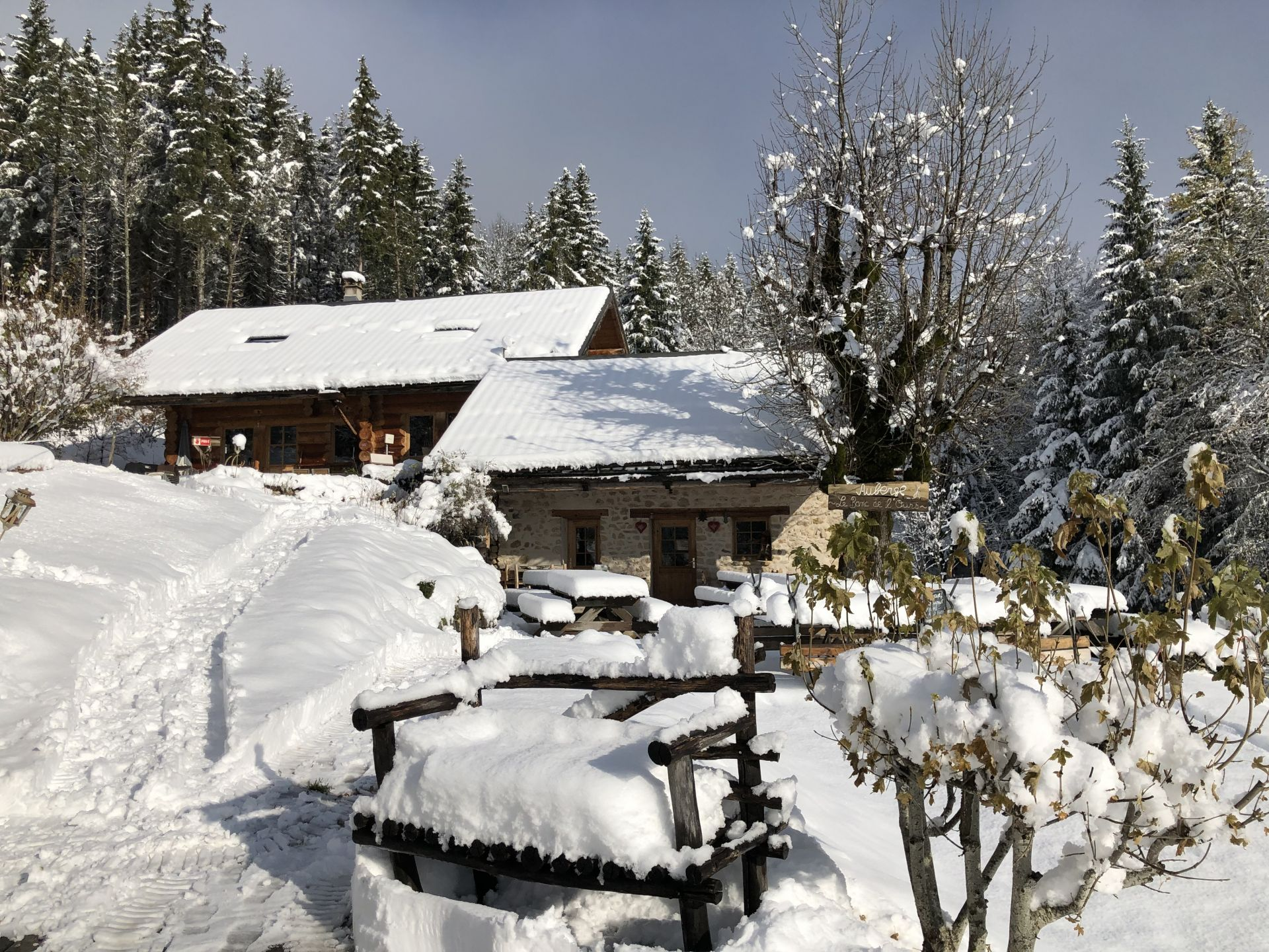 Restaurant d'alpage du Banc de l'Ours