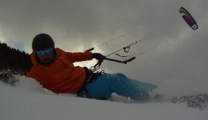 snowkite Autrans